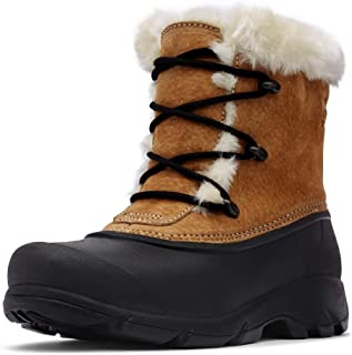 Sorel - Women's Snow Angel Waterproof Insulated Boot with Faux Fur Cuff