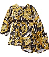 Versace Kids - Dress with Barocco Print (Infant)