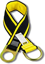 KwikSafety (Charlotte, NC) GIBBON GRIP 3 ft Anchor Choker Cross Arm Strap Fall Arrest ANSI Pass Thru Tie Off Safety Sling Anchorage Connector Fall Protection Harness Lanyard SRL Construction PPE Kit