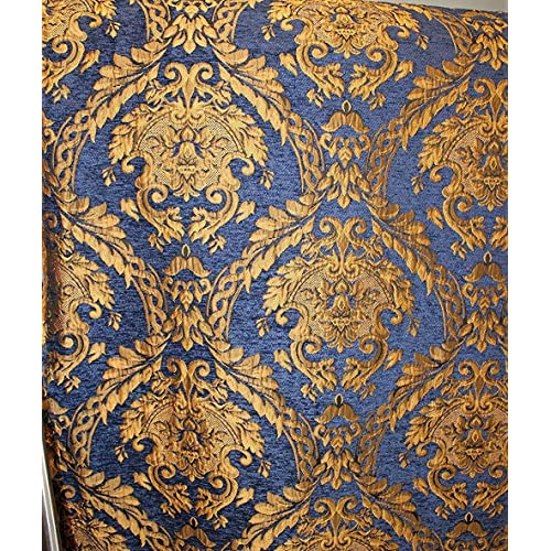 Damask Tapestry Chenille Fabric