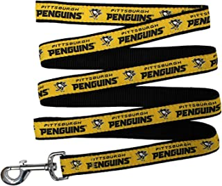 Pets First NHL Pittsburgh Penguins Leash for Dogs & Cats, Large. - Walk Cute & Stylish! The Ultimate Hockey Fan Leash!