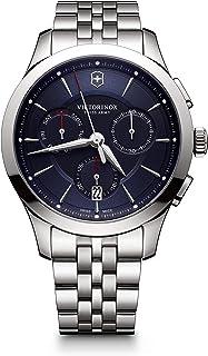 Victorinox - Hombre Alliance - Reloj de Acero Inoxidable de Cuarzo analógico de fabricación Suiza 241746
