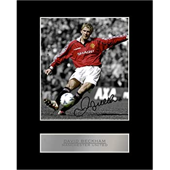 HWC Trading A4 Ole Gunnar Solskjaer Manchester Utd Man U Gifts Printed Signed Autograph Picture for Fans and Supporters A4