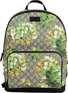 Gucci Unisex Beige/Brown Bloom GG Coated Canvas Backpack 406370 8966