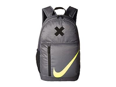 Nike Kids Elemental Backpack (Little Kids/Big Kids) (Dark Grey/Black/Volt) Backpack Bags