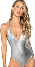 Best metallic v neck bodysuit Reviews