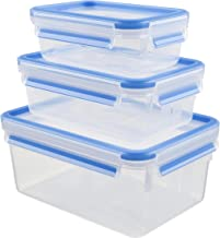 Tefal Masterseal safe food container 3-piece set 0.55 liter, 1.0 liter, 2.3 liter