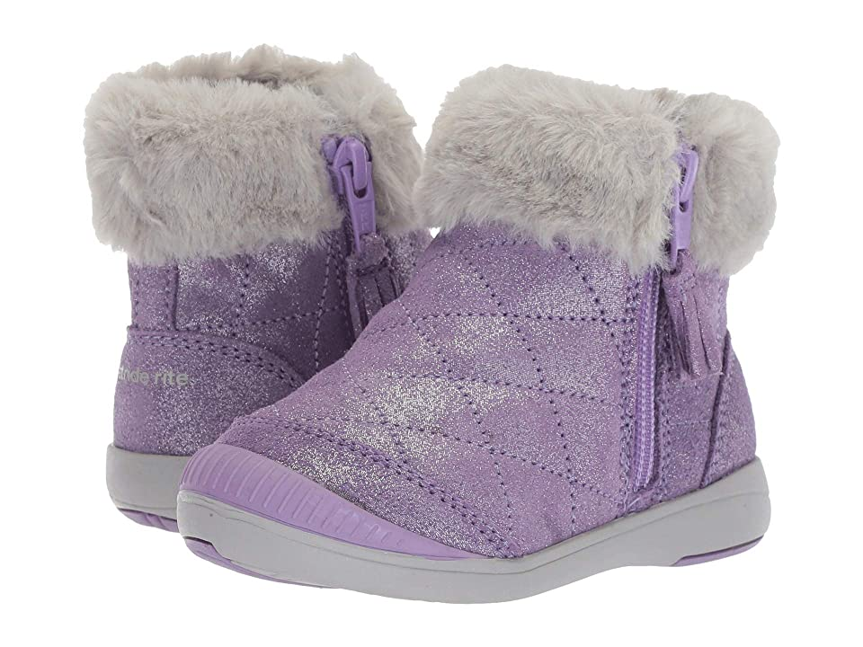 Stride Rite Chloe (Toddler/Little Kid) (Purple Leather) Girls Shoes