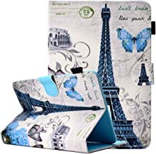 ANGELLA-M Universal 7 inch Tablet Case, Folio Cover Multiple Viewing Angles Stand, Card Pocket Case Huawei MediaPad T3 7.0 /Huawei MediaPad T1 7.0 /Huawei MediaPad T2 7.0- A03