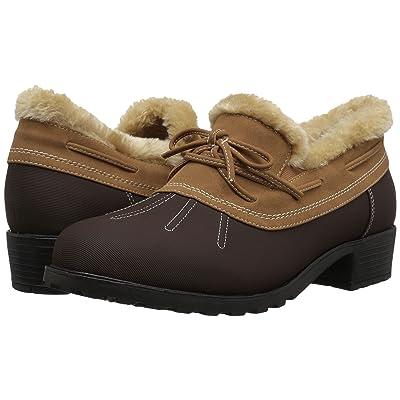 Trotters Brrr Waterproof (Dark Brown Rubberized Waterproof/Nubuck PU Waterproof/Faux Fur) Women