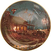 Hadley House Moonlight Retreat Terry Redlin plate HJ288