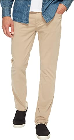 Paige Federal Slim Straight Leg in Timberwolf