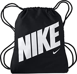 Nike Unisex-Child Gym Sack, Black/White - NKBA5262