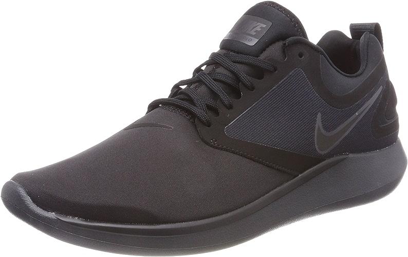 Nike lunarsolo Chaussures de Running, Homme, Noir (noir noir-Anthracite)