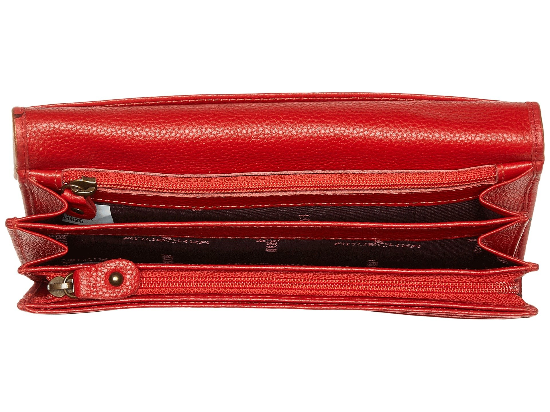 Handbags 1095 Island Escape Flap Wallet Accordion Anuschka RUBxqq