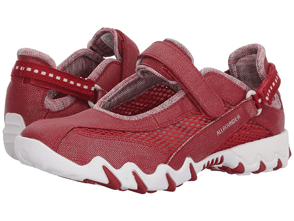 Mephisto Niro (Rosso Jeanstyle/Cool Grey Open Mesh) Women