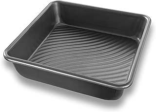 USA Pan Patriot Pan Bakeware Aluminized Steel 8-Inch Square Cake Pan
