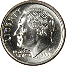 2000 D 10c Roosevelt Dime US Coin Uncirculated Mint State