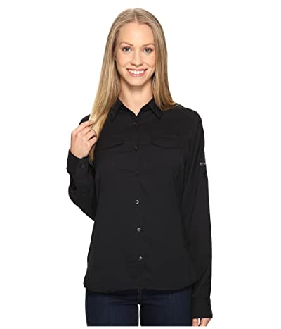 Columbia Silver Ridge Lite Long Sleeve Shirt (Black) Women