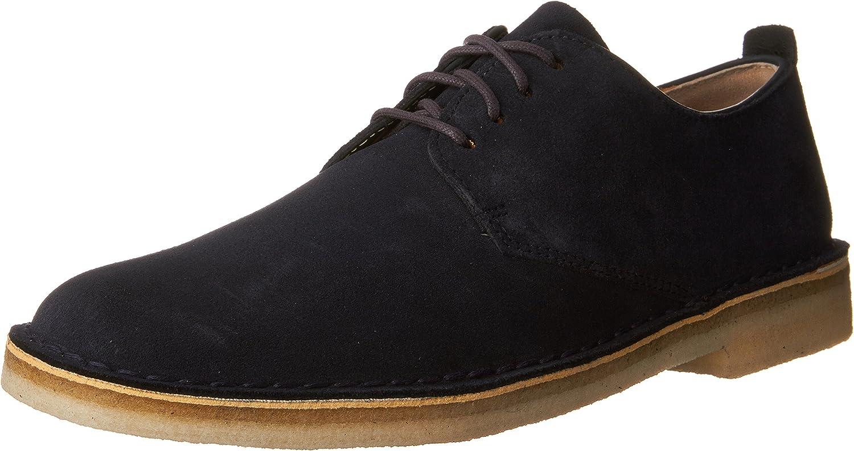 CLARKS Desert London Oxford Shoe Mens - Midnight Suede - 12 D(M) US