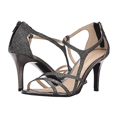 Pelle Moda Ruby (Pewter Metallic Textile) High Heels