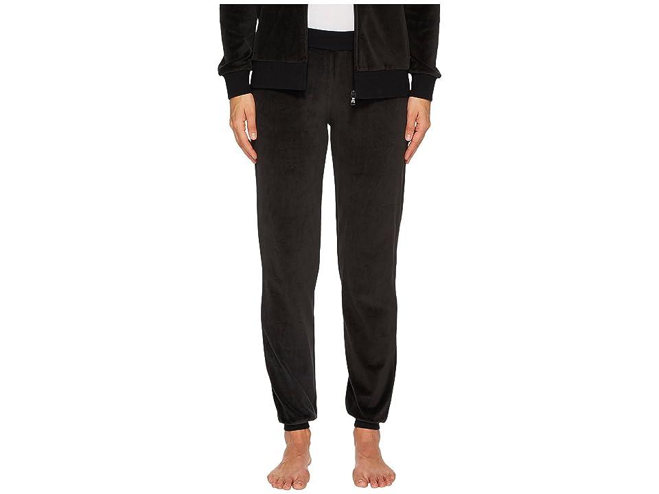 Emporio Armani Chenille Cuffed Pants (Black) Women