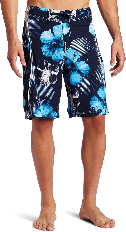 San Antonio Mall Speedo Men's Tech Floral FLX Genuine Free Shipping System Board Shorts