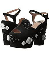 Boutique Moschino - Embellished Platform Sandal