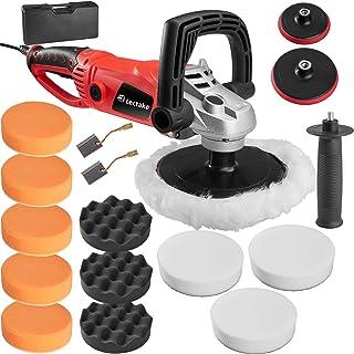 TecTake 400176 Machine à polir avec poignée rotative et accessoires set