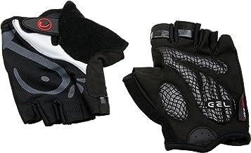 Ultrasport Unisex volwassen Advanced fiets/trainingshandschoenen, halve vinger, met gelinleg/voering in handpalm, mesh-inz...