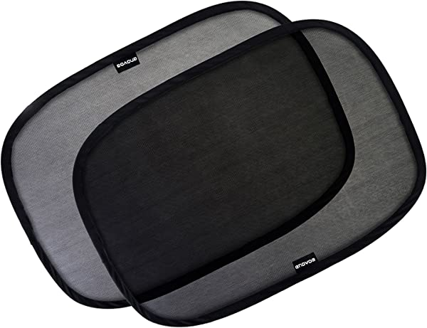 Enovoe Car Window Shade 4 Pack 19 X12 Cling Sunshade For Car Windows Sun Glare And UV Rays Protection For Your Child Baby Side Window Car Sun Shades