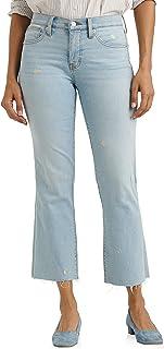 Lucky Brand Women's Mid Rise Ava Crop Mini Bootcut Jean
