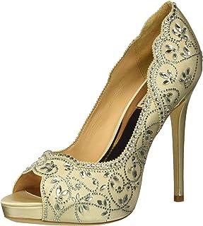 8e2cc4389e4 Amazon.com: Ivory - Heeled Sandals / Sandals: Clothing, Shoes & Jewelry