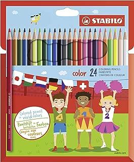 Stabilo 880//48 48 pi/èces /Couleurs assorties 1/Woody 3/en 1/Stylo/