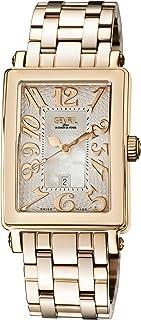 Gevril - Reloj analógico para Mujer de Cuarzo con Correa en Acero Inoxidable 9345RB