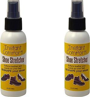 Instant Comfort Liquid Shoe Stretcher Spray. Shoe stretch spray for leather used to instantly increase comfort and loosen ...