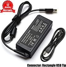 20V 3.25A 65W AC Adapter Charger Compatible Lenovo Thinkpad E470 E550 E570 L440 L540 T460 T470 X230S X240 X250 X270 Z40 Z50 Z70 Yoga X1 11e 260 370 460, ADLX45DLC2A ADLX45NCC2A ADLX45NDC3A ADLX65NCC2A