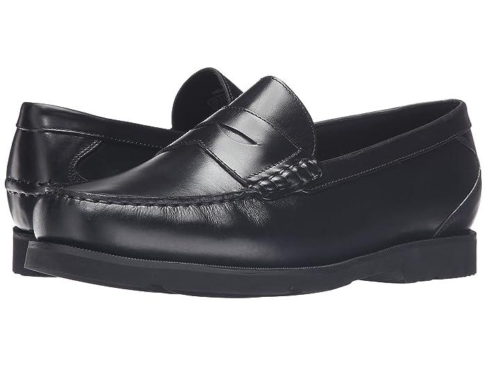 Rockport  Modern Prep Penny (Black) Mens Shoes