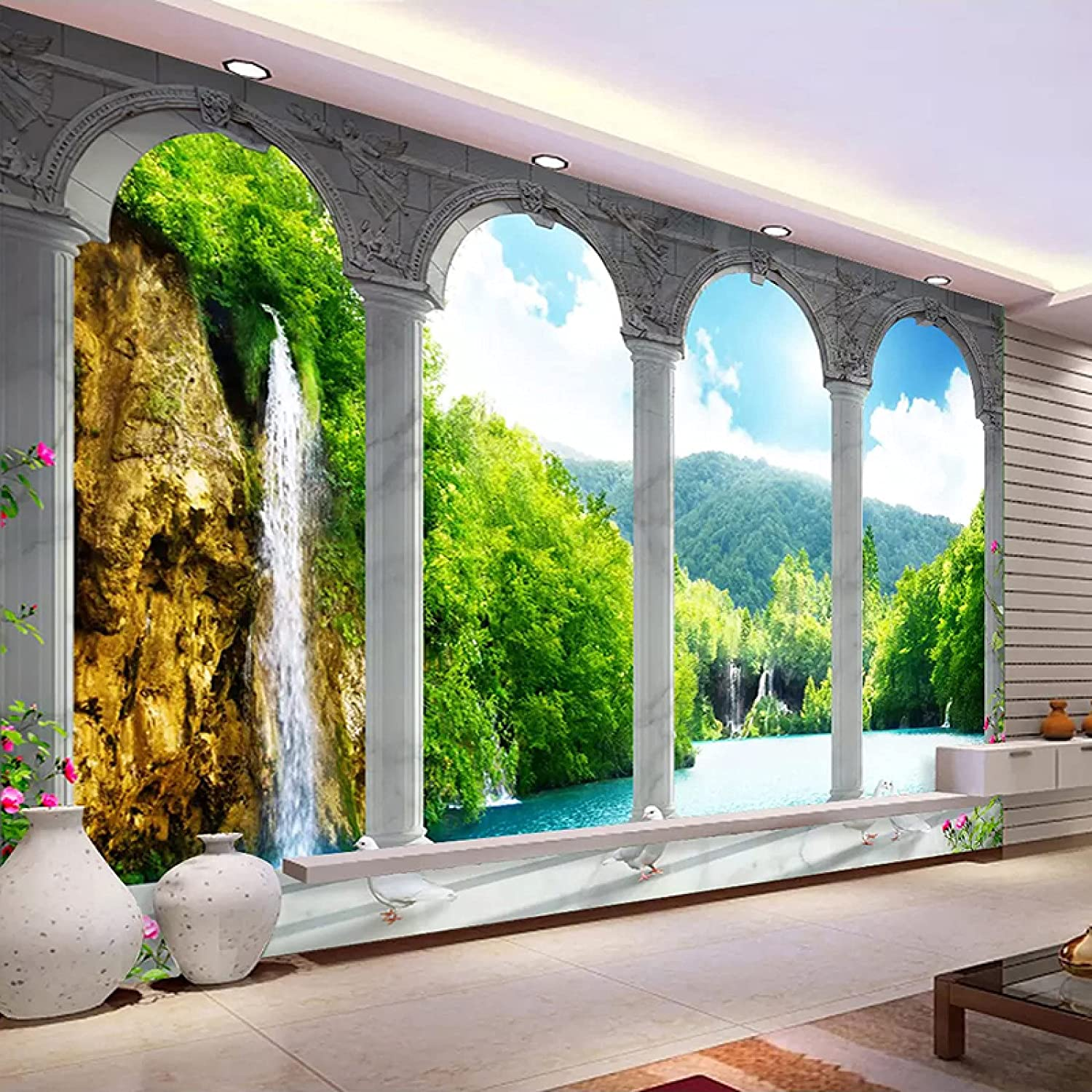 HUIJIE Nature Landscape Photo Industry No. 1 Surprise price Wallpaper Custom Space Mural 3D -