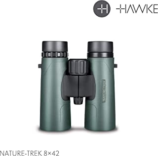 Hawke Sport Optics 35102 Nature-Trek Binoculars, Green, 8 x 42