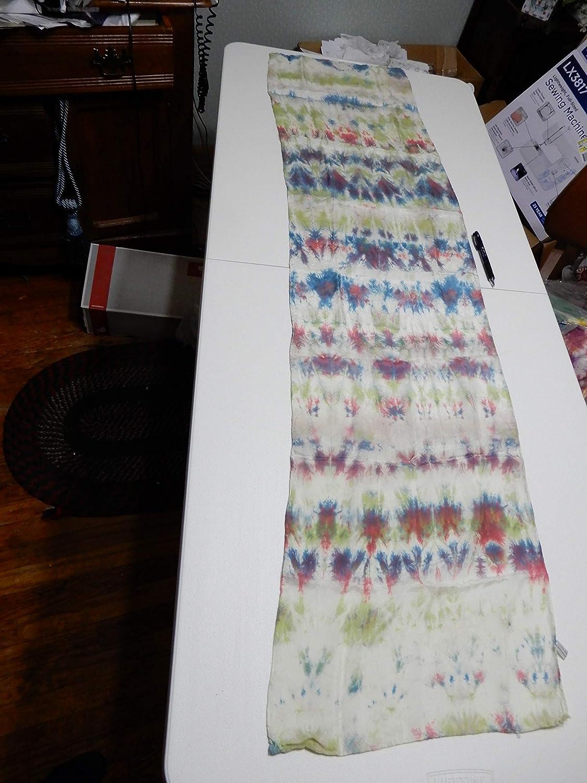 Shibori Classic Silk safety Scarf 15