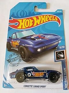 Hot Wheels 2019 Hw Race Team Corvette Grand Sport, Blue 233/250