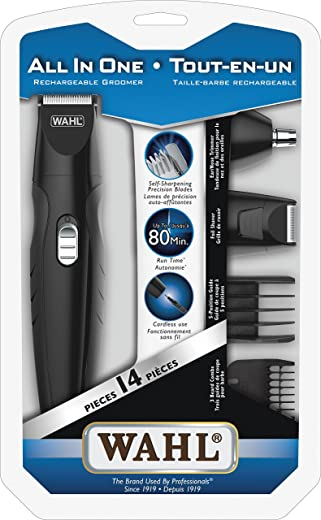 Wahl Canada Rechargeable Trimmer for Men, All in One Trimmer, Beard Trimmer,...