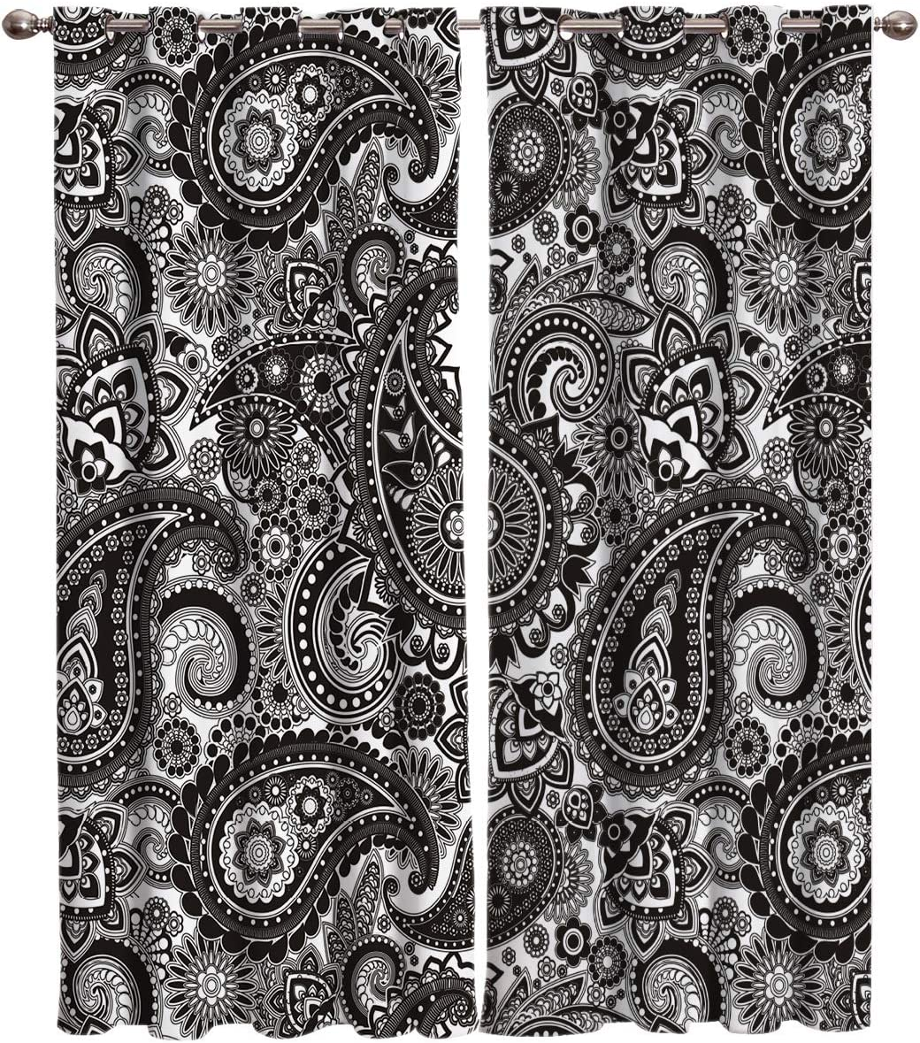 FortuneHouse8 Max 66% OFF Blackout Curtains Thermal New item Indian Insulated Traditi
