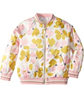 Kate Spade New York Kids - Satin Printed Bomber (Toddler/Little Kids)