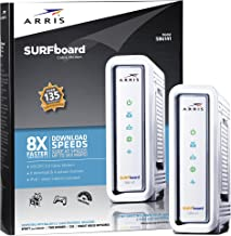 ARRIS SURFboard SB6141 8x4 DOCSIS 3.0 Cable Modem - Retail Packaging- White