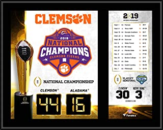 Clemson Tigers College Football Playoff 2018 National Champions 12