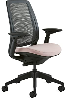 Steelcase Series 2 Office Chair, Era Pink Lemonade