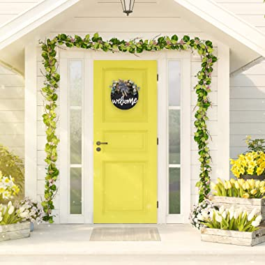 Welcome sign for front door hello spring wreaths for front door decor summer fall wreath welcome home sign Wreaths for Front