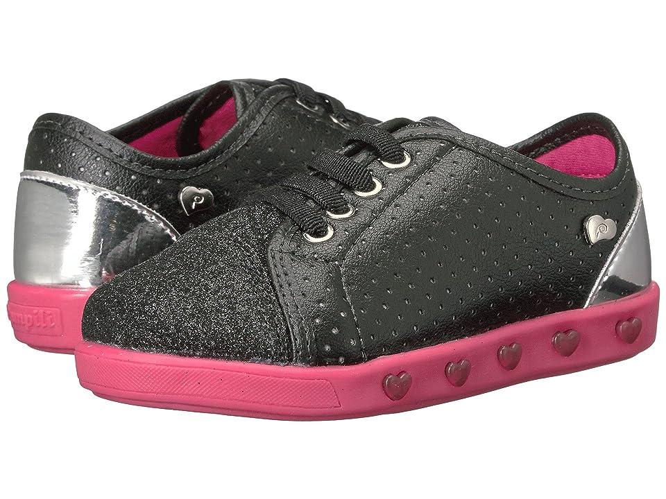 Pampili Sneaker Luz 165006 (Toddler/Little Kid) (Black) Girl